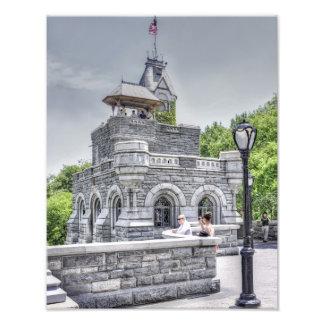 セントラル・パークのBelvedereの城 フォトプリント