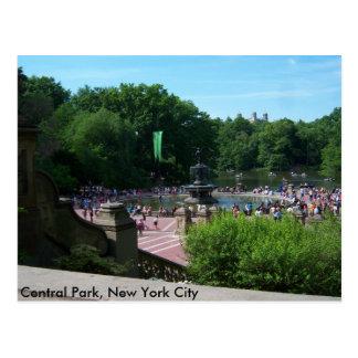 セントラル・パーク、ニューヨークシティ ポストカード