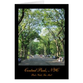 セントラル・パーク: 夏の詩人の歩行 カード