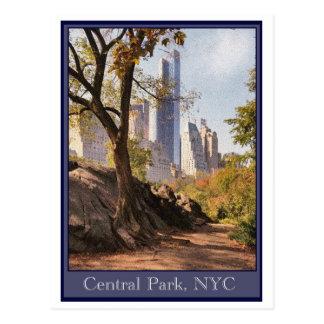セントラル・パーク、NYC ポストカード