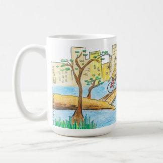 セントラル・パークRhodesian Ridgebackのマグ コーヒーマグカップ