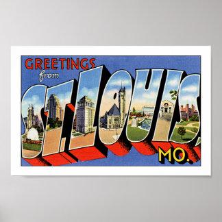 セントルイスからの挨拶 ポスター