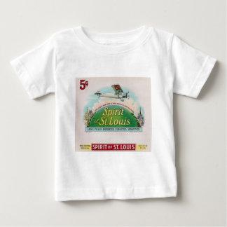 セントルイスのヴィンテージのシガーのラベルのレトロの精神 ベビーTシャツ