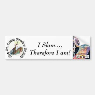 セントルイスの詩歌のSLAMのバンパーステッカー バンパーステッカー