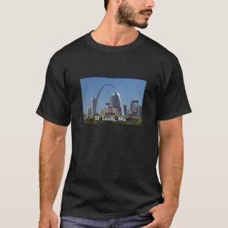 セントルイスのmoの出入口のアーチT Tシャツ