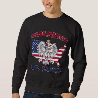 セントルイスミズーリのポーランド語 スウェットシャツ