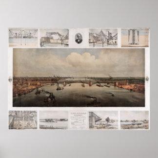 セントルイスミズーリの橋 ポスター