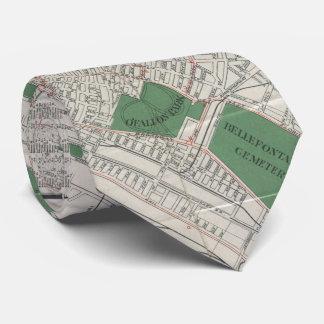 セントルイスミズーリ(1921年)のヴィンテージの地図 オリジナルタイ