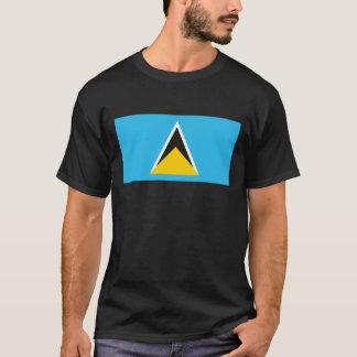 セントルシアの旗のTシャツ Tシャツ