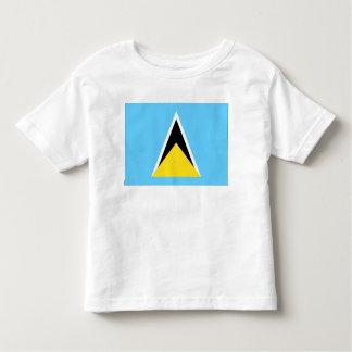 セントルシアの旗 トドラーTシャツ