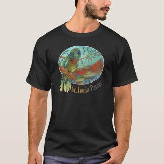 セントルシアの熱帯オウム Tシャツ
