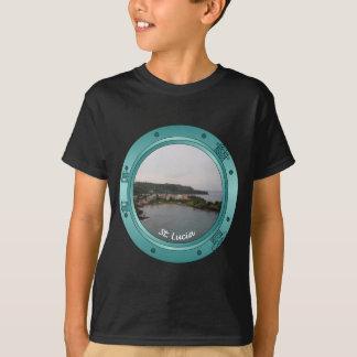 セントルシアの蒸気口 Tシャツ