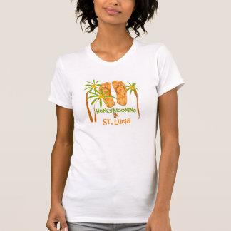 セントルシアのHoneymooning Tシャツ