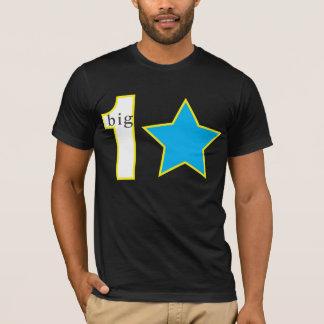 セントルシア1枚の大きい星のTシャツ Tシャツ