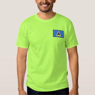 セントルシア 刺繍入りTシャツ