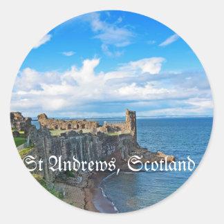 セント・アンドリュースの城、スコットランド ラウンドシール