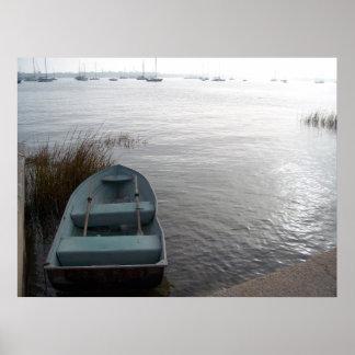 セント・オーガスチンフロリダのボートのヨットポスター芸術 ポスター