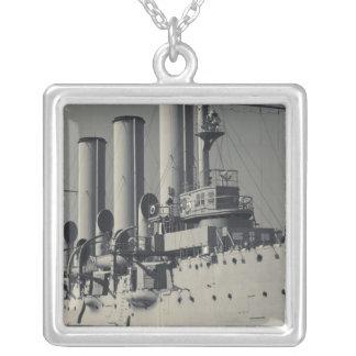 セント・ピーターズバーグの巡洋艦のオーロラ2 シルバープレートネックレス