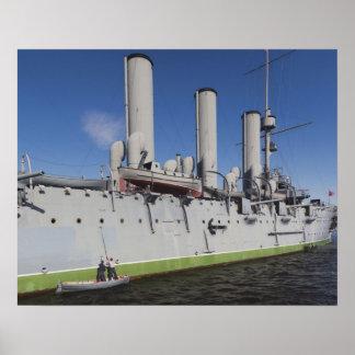セント・ピーターズバーグの巡洋艦のオーロラ4 ポスター