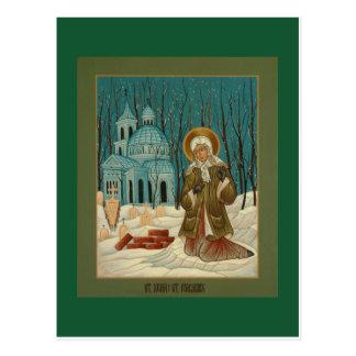セント・ピーターズバーグの祈りの言葉カードのSt.ジーニア ポストカード