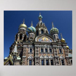 セント・ピーターズバーグ教会、ロシア ポスター