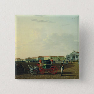セント・ピーターズバーグ1802年のBolshoiの劇場 5.1cm 正方形バッジ