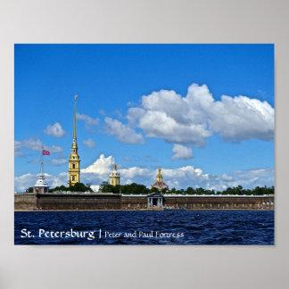 セント・ピーターズバーグ、ピーターおよびポールの要塞 ポスター