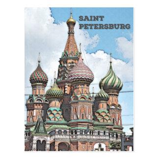 セント・ピーターズバーグ、ロシア ポストカード