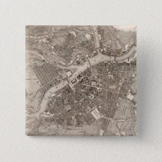 セント・ピーターズバーグ、ロシア 5.1CM 正方形バッジ