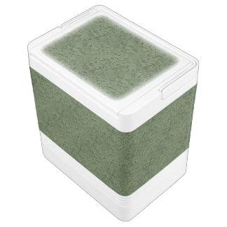 セージグリーンのコルクの一見木穀物 IGLOO クーラーボックス