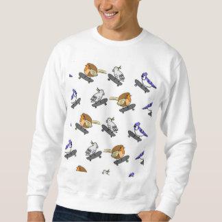 セーターの大きい鳥 スウェットシャツ