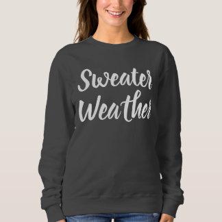セーターの天候 スウェットシャツ