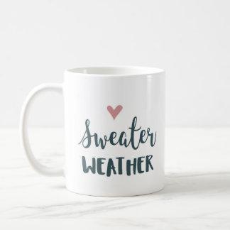 セーターの天候mag コーヒーマグカップ