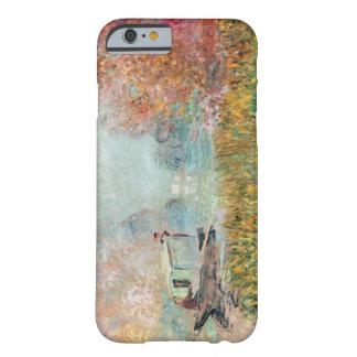 セーヌ河のクロード・モネ|のボートのスタジオ BARELY THERE iPhone 6 ケース