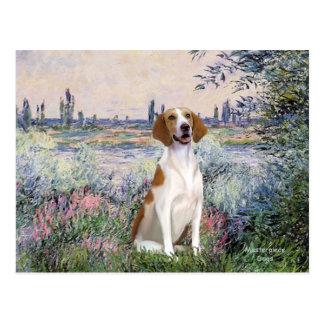 セーヌ河-アメリカのキツネの猟犬著 ポストカード