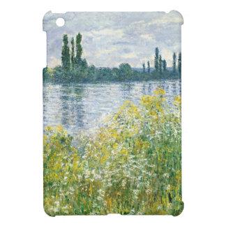 セーヌ河、Vetheuil 1880年のクロード・モネ|銀行 iPad Mini Case