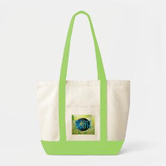 セービングの地球バッグ トートバッグ