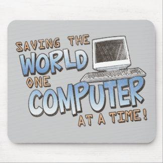 セービングのtheWorld マウスパッド