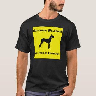 セールスマンの歓迎 Tシャツ