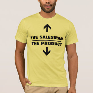 セールスマンプロダクトおもしろいなティー Tシャツ