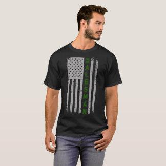 セールスマン米国の旗 Tシャツ