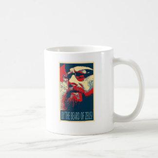 ゼウスのひげによって コーヒーマグカップ