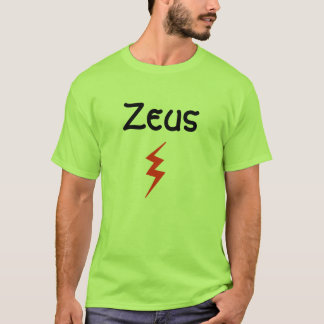 ゼウスのTシャツ Tシャツ