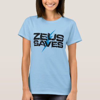 ゼウスは救います Tシャツ