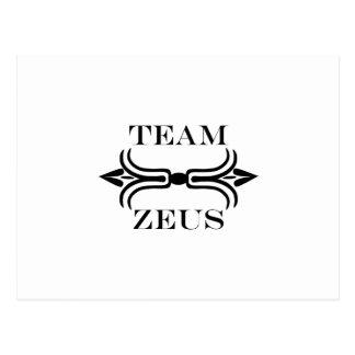 ゼウス英語チーム ポストカード