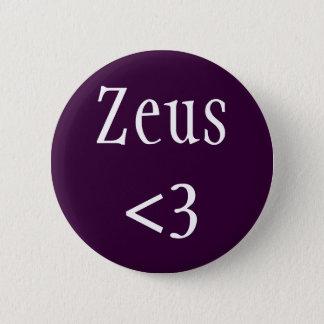 ゼウス<3のバッジ 5.7CM 丸型バッジ
