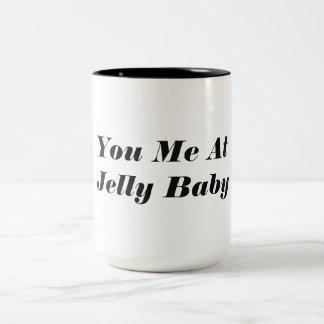 ゼリーの赤ん坊で私がありました ツートーンマグカップ