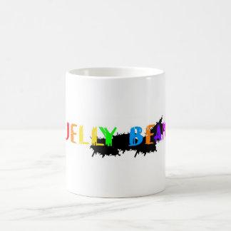 ゼリー菓子のデザイン コーヒーマグカップ