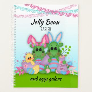 ゼリー菓子のバニーのImposterのイースターエッグのプランナー プランナー手帳