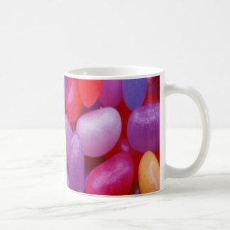 ゼリー菓子のピンクおよび青 コーヒーマグカップ